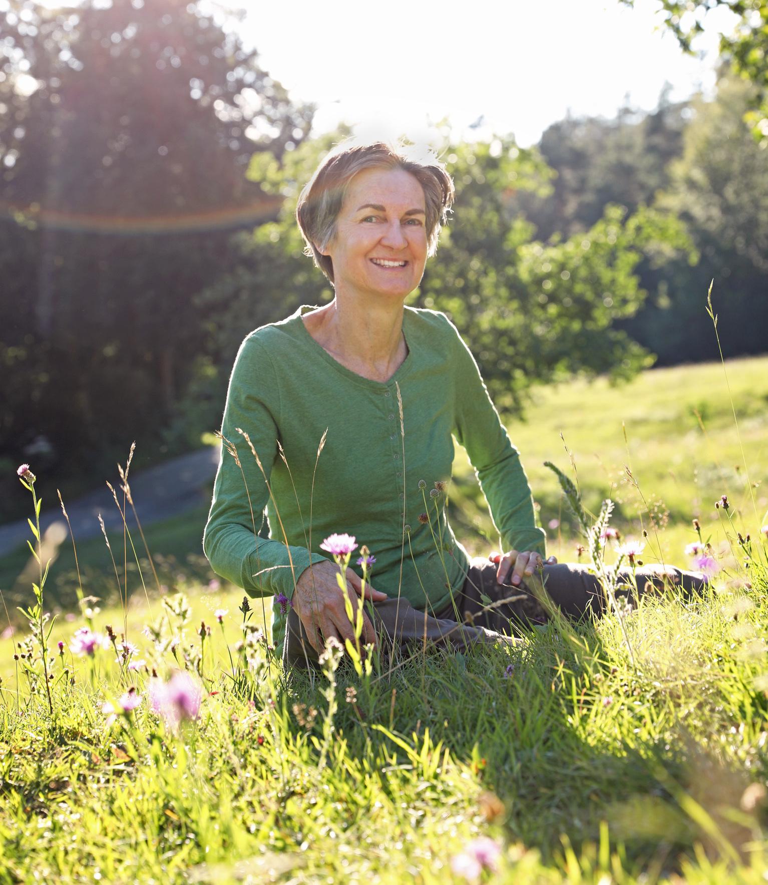Yogalehrerin Simone: seit 2007 Yoga Kurse in Liechtenstein, Bad Ragaz, Sevelen sowie auch Yoga Privatstunden.